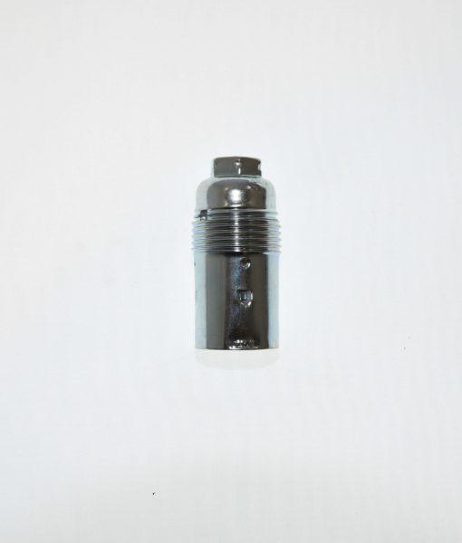 Kleine fitting E14 metaal - Chroom