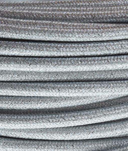 strijkijzersnoer zilver glinsterend
