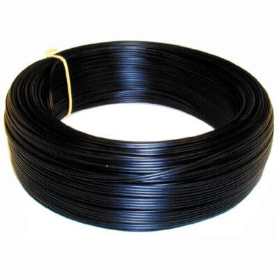 Huishoudsnoer-rond-zwart-2-x-0,75-mm