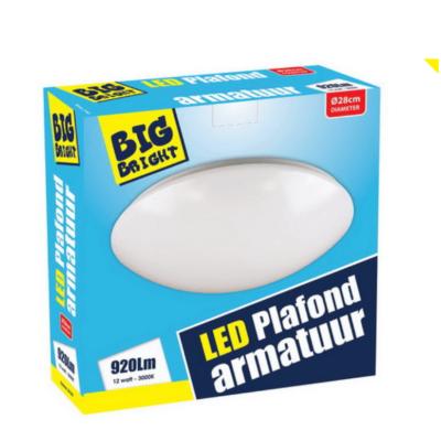 LED-PLAFOND/WAND-12W-3000K