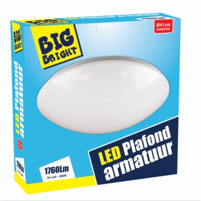 LED-PLAFOND/WAND-22W-3000K