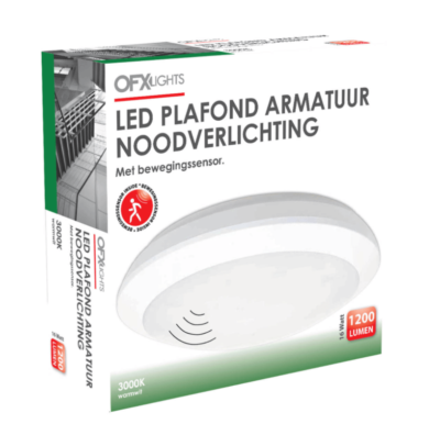 LED-PLAFONDARM-NOODVERLICHTING-16W-3000K