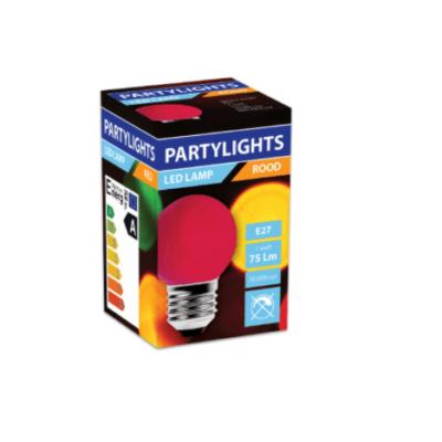LED-PARTYLIGHTS-KOGEL-ROOD